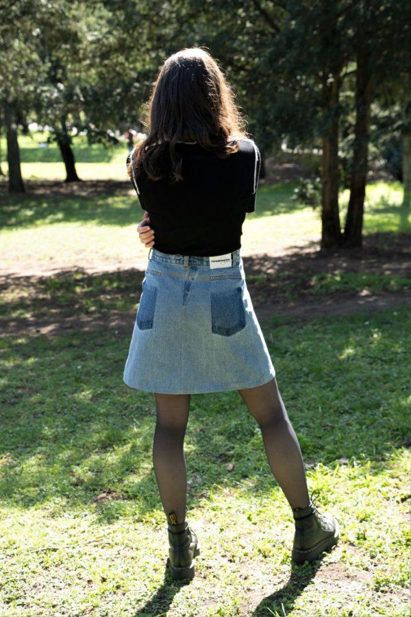 Photo jupe trapèze