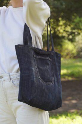 Photo mini cabas à poches