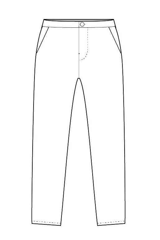 Pantalon ajusté